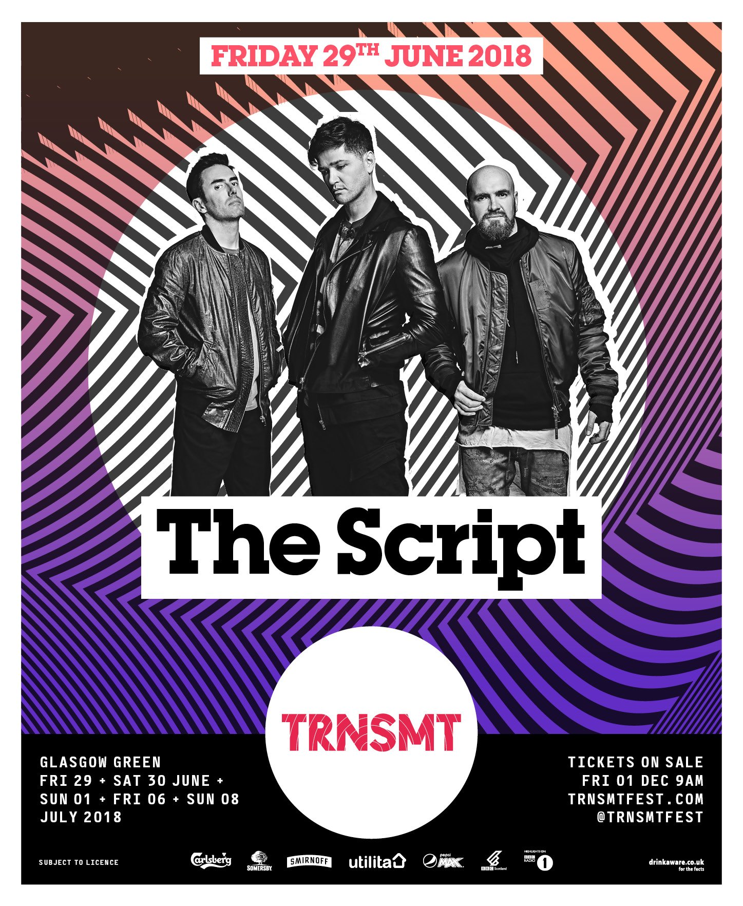 Glasgow, excited to announce we're playing @TRNSMTfest next year! Pre- sale starts Wednesday 9AM GMT. https://t.co/zIzsTli0wU