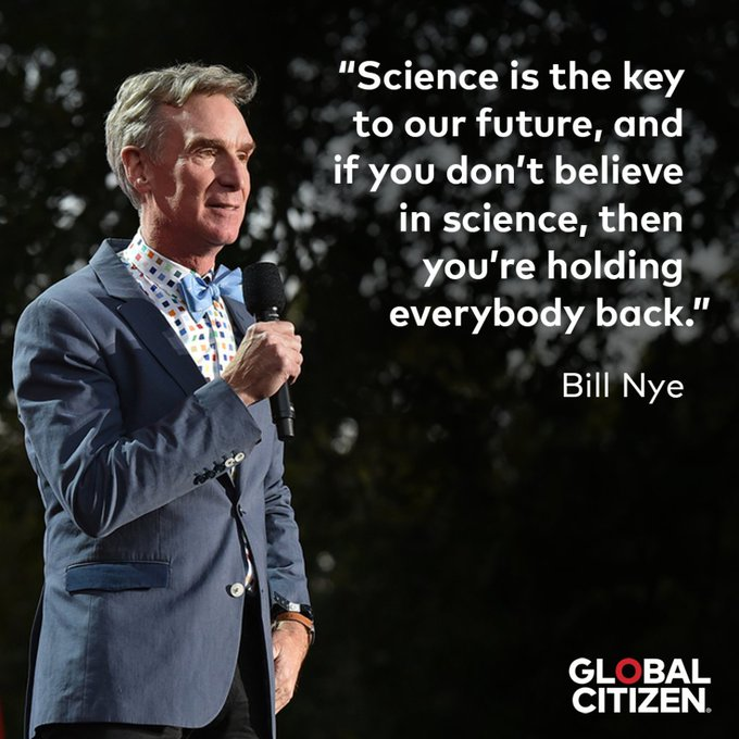 Science rules, and so does this guy   Happy birthday, Bill Nye The Science Guy!