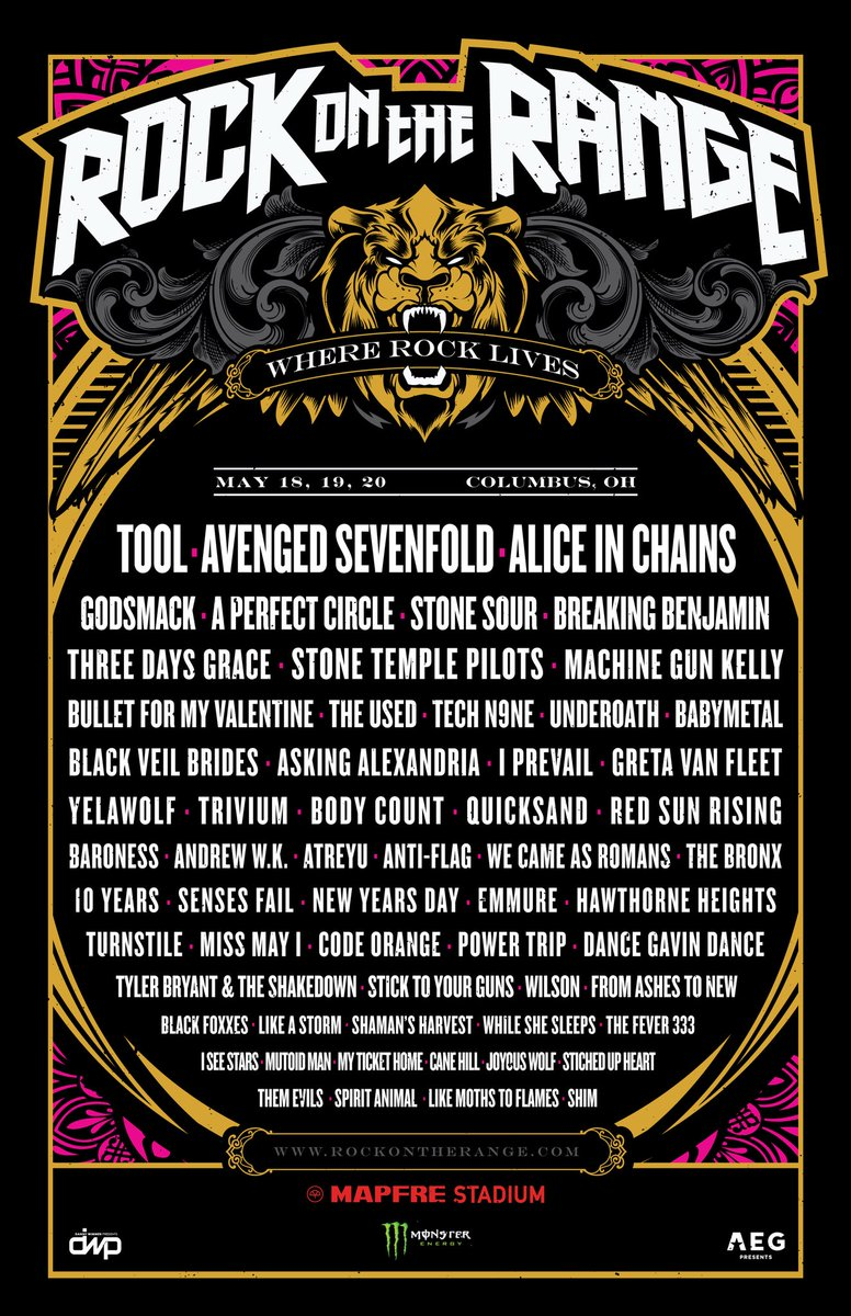 Confirmed #RockOnTheRange 2018!! #BABYMETAL https;//t.co/y9rZ7KYhgO