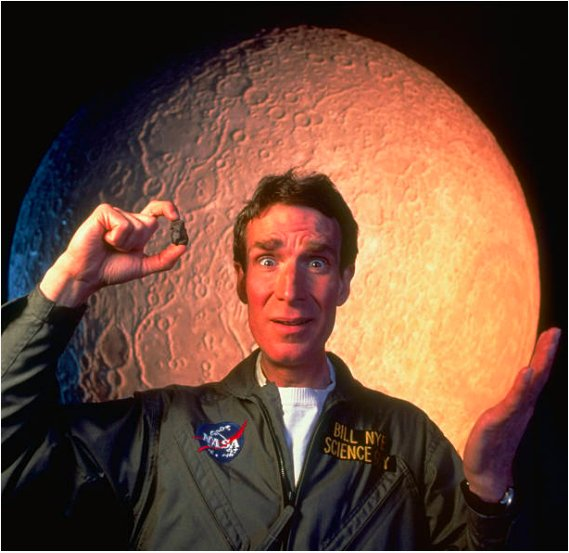 Science is the best idea humans have ever had.  Happy birthday Bill Nye. Photo: Rex Rystedt