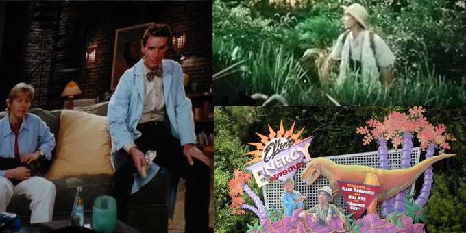 Have a happy birthday, . I miss Bill Nye the Science Guy at Epcot. Dinosaurs ARE cool.