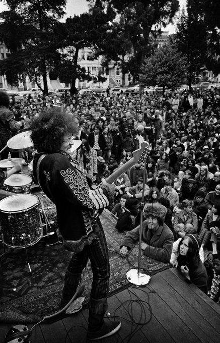 Happy 75th birthday Jimi Hendrix. Your music continues giving inspiration to people. Forever.