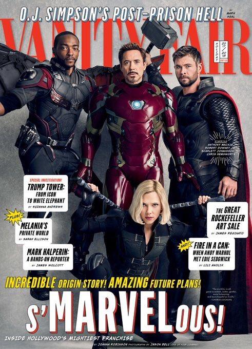 RT @Avengers: Check out these brand new #InfinityWar covers from @VanityFair! More info: https://t.co/yxHjj4Zah7 https://t.co/DOfKCwpumQ