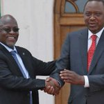 In 2013 twelve heads of state attended Uhuru's inauguration