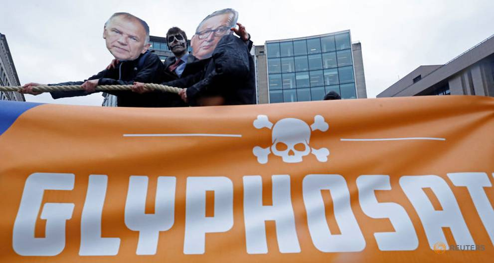 EU backs five-year extension for weed-killer glyphosate