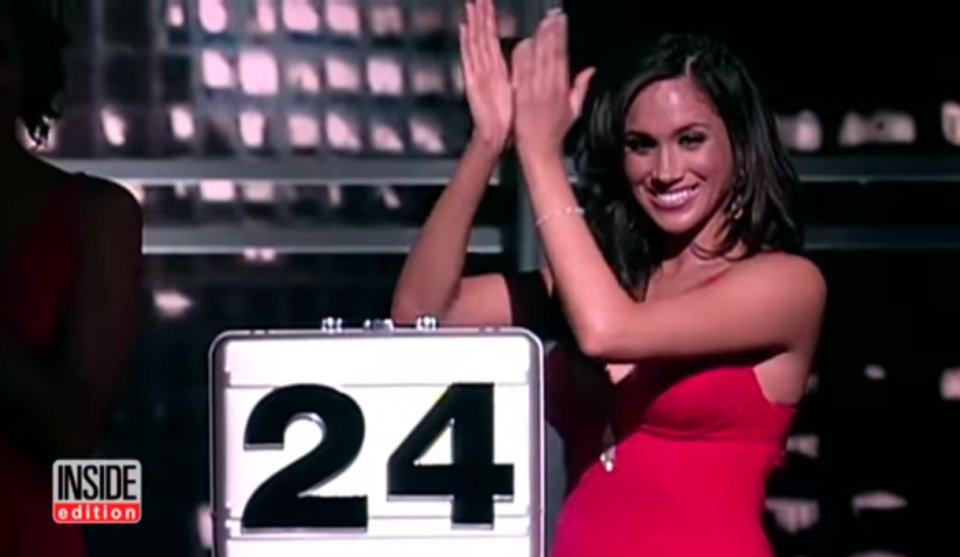Meghan Markle starred on Deal or No Deal in the US as a briefcase model in 2006 before finding fame