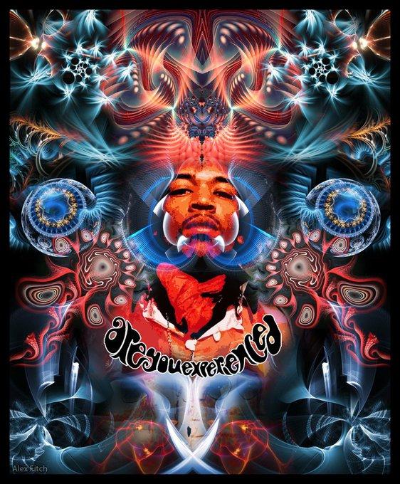 Happy 75th birthday Jimi Hendrix!