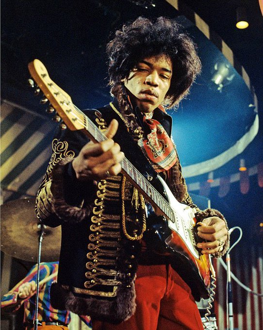 Happy 75th Birthday to the late great Jimi Hendrix