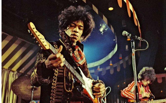 Happy 75 Birthday Jimi Hendrix!