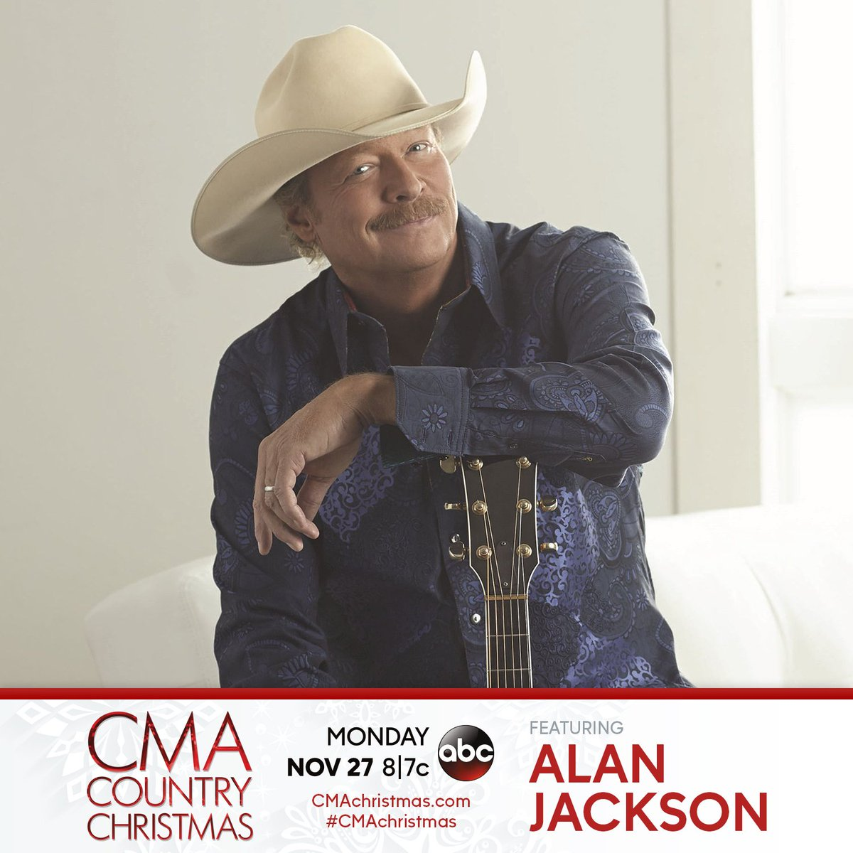 RT @OfficialJackson: Watch Alan help ring in the holiday season with #CMAchristmas TONIGHT at 8|7c on @ABCNetwork! https://t.co/fVjBx1yADF