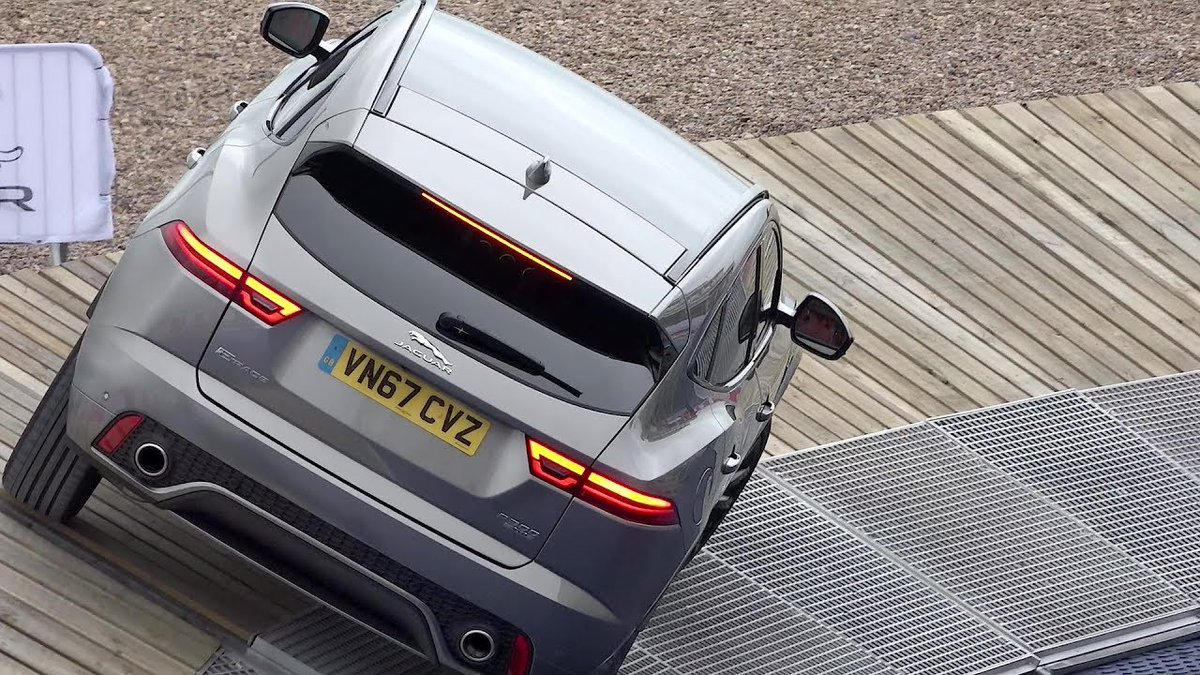 2018 Jaguar E-Pace - Ramp Test - Dauer: 7 Minuten, 21 Sekunden