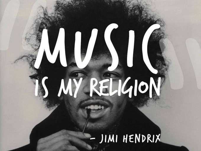 Very Happy Birthday to the Legend of Legends Jimi Hendrix!
