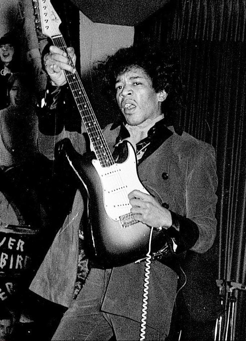 Happy Birthday Jimi Hendrix (November 27, 1942 September 18, 1970)