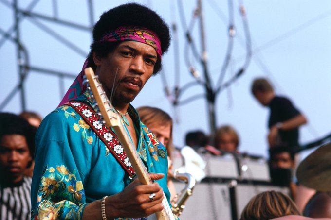 A very happy birthday to THE one & only Jimi Hendrix - Still rocking on the big stage in the sky!!!