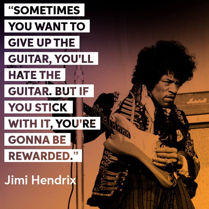 Happy birthday to one of the most influential electric guitarists of all time - Jimi Hendrix