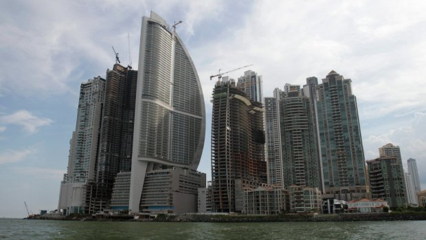 Effort to strip Trump name, end management at Panama hotel
