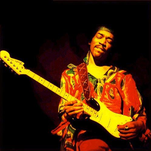 Happy Birthday, Jimi Hendrix, born Nov 27 1942! Adrian sez he is a Hendrix man ... Pic via