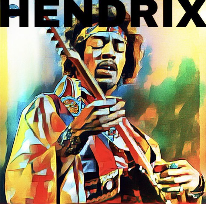 Here s another edit. Happy Birthday to the GOAT Jimi Hendrix.