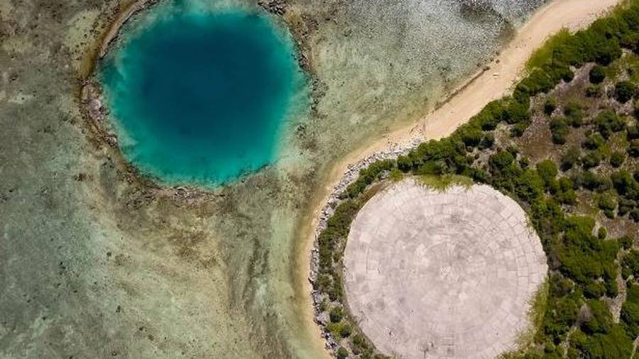 Marshall Islands: Concrete dome holding nuclear waste could leak
