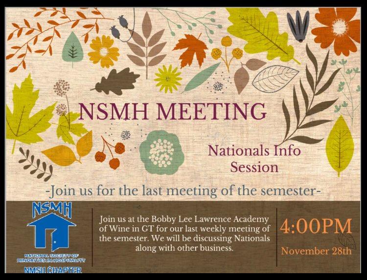 Join us tomorrow 😊 #NSMHPRsta