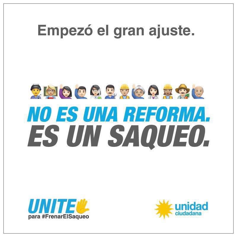 No es una reforma. Es un saqueo.   UNITE para #FrenarElSaqueo ��  ➡️ https://t.co/F3Ety8a4Gx https://t.co/BtZ0zEvNLq