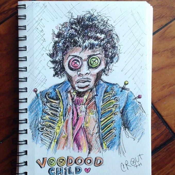 Happy birthday, Jimi Hendrix.