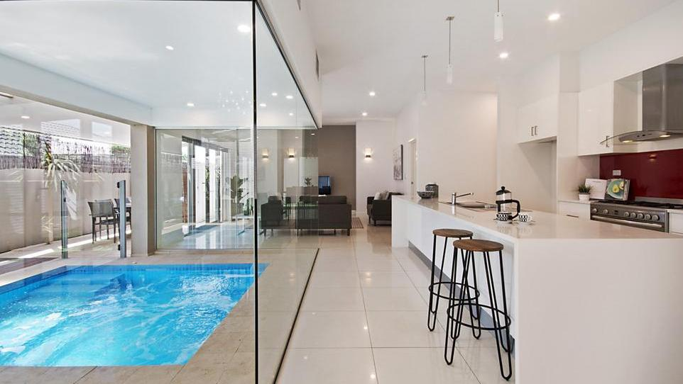 Tranmere home with no yard incorporates pool inside the home