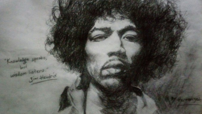 I hope it\s not too late..  Happy 75th Birthday to the Legend Jimi Hendrix. Thanks for Your Legacy