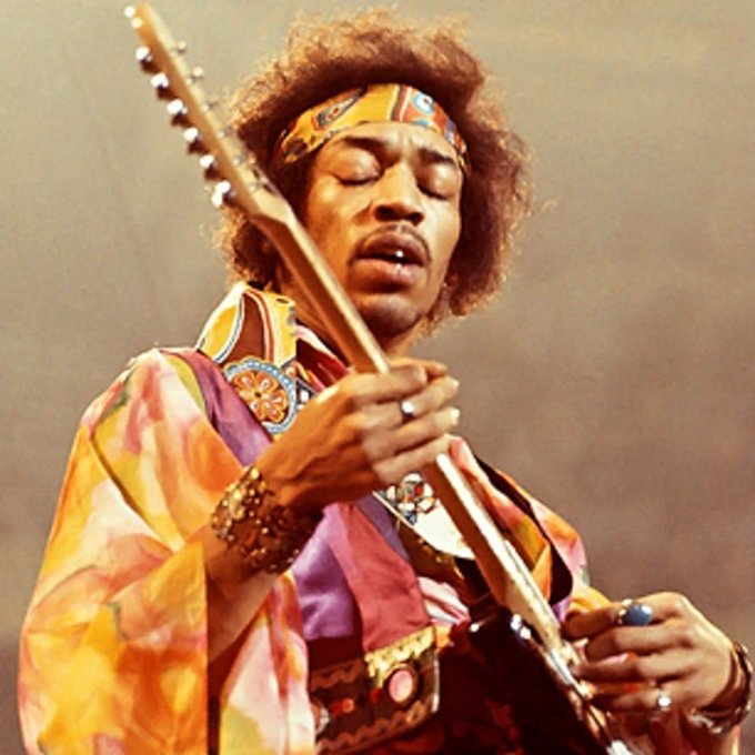 Happy birthday to the legend Jimi Hendrix RIP