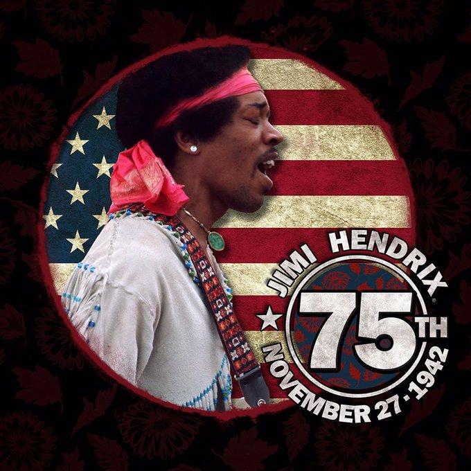 Happy 75th birthday to Jimi Hendrix!