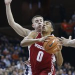 Badgers men's basketball: Struggles on offense lead to loss at Virginia