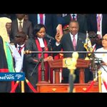Kenyatta sworn in as president of Kenya