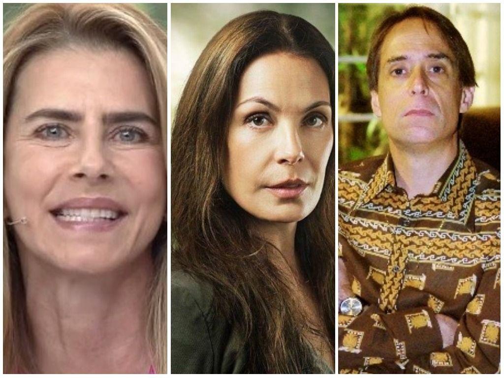 Carolina Ferraz. Foto do site da BN Holofote que mostra Maitê Proença, Carolina Ferraz e Pedro Cardoso estão banidos da Globo