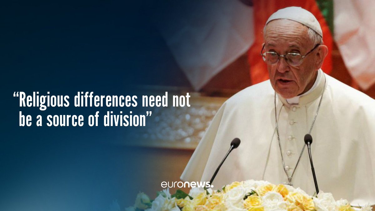 Pope Francis fails to mention Rohingya Muslims in Myanmar speech