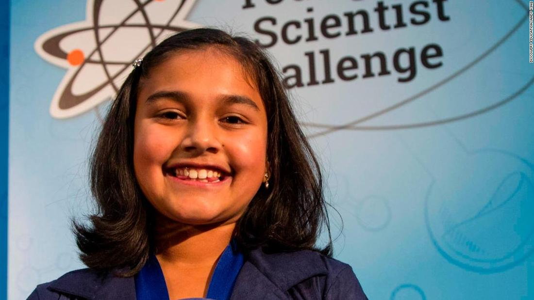 Meet the 11-year old who won a $25,000 science prize