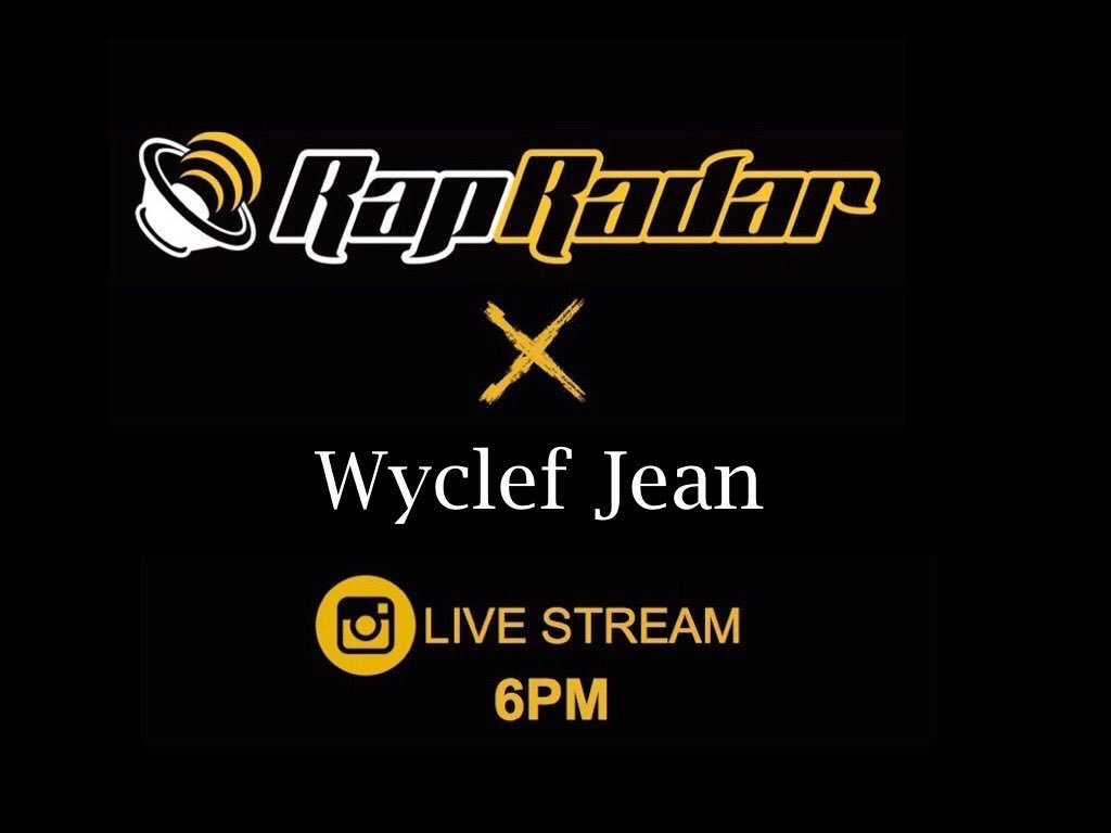 Tune in at 6PM Warriors!!! See u later @RapRadar ???????? https://t.co/zlw48ojlDy