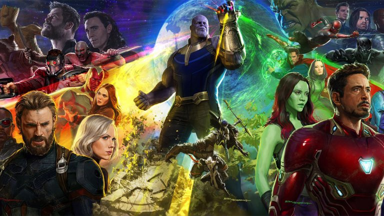 .@Marvel teases 'Avengers: Infinity War' trailer with a 10-year retrospective