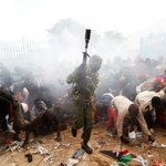Kenya president sworn in amid opposition protests