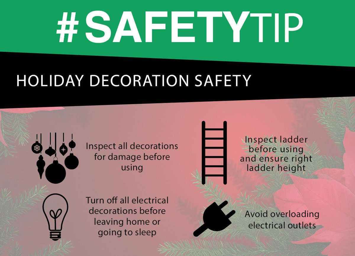 test Twitter Media - As we celebrate this holiday season be sure to stay safe!! Holiday safety is something that should not be overlooked. Follow these important safety tips and have a happy and SAFE holiday this season! https://t.co/rxnKLWllzE