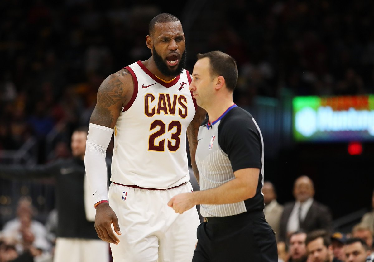 Did LeBron deserve the first ejection of his NBA career?
