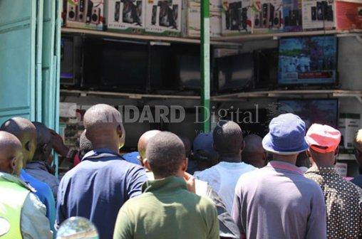 Nyanza calm as Uhuru is sworn in