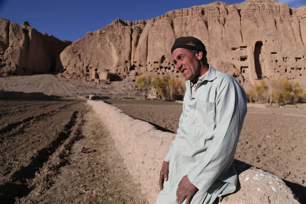 He was forced to blow up Afghanistan's Bamiyan Buddhas. Should they be rebuilt?