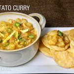 Spicy Potato Curry (Simple Appetizer) recipe by Manjula