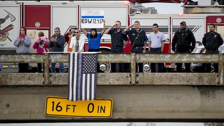 'THE FINEST AMONG US': Hundreds mourn slain officer in funeral