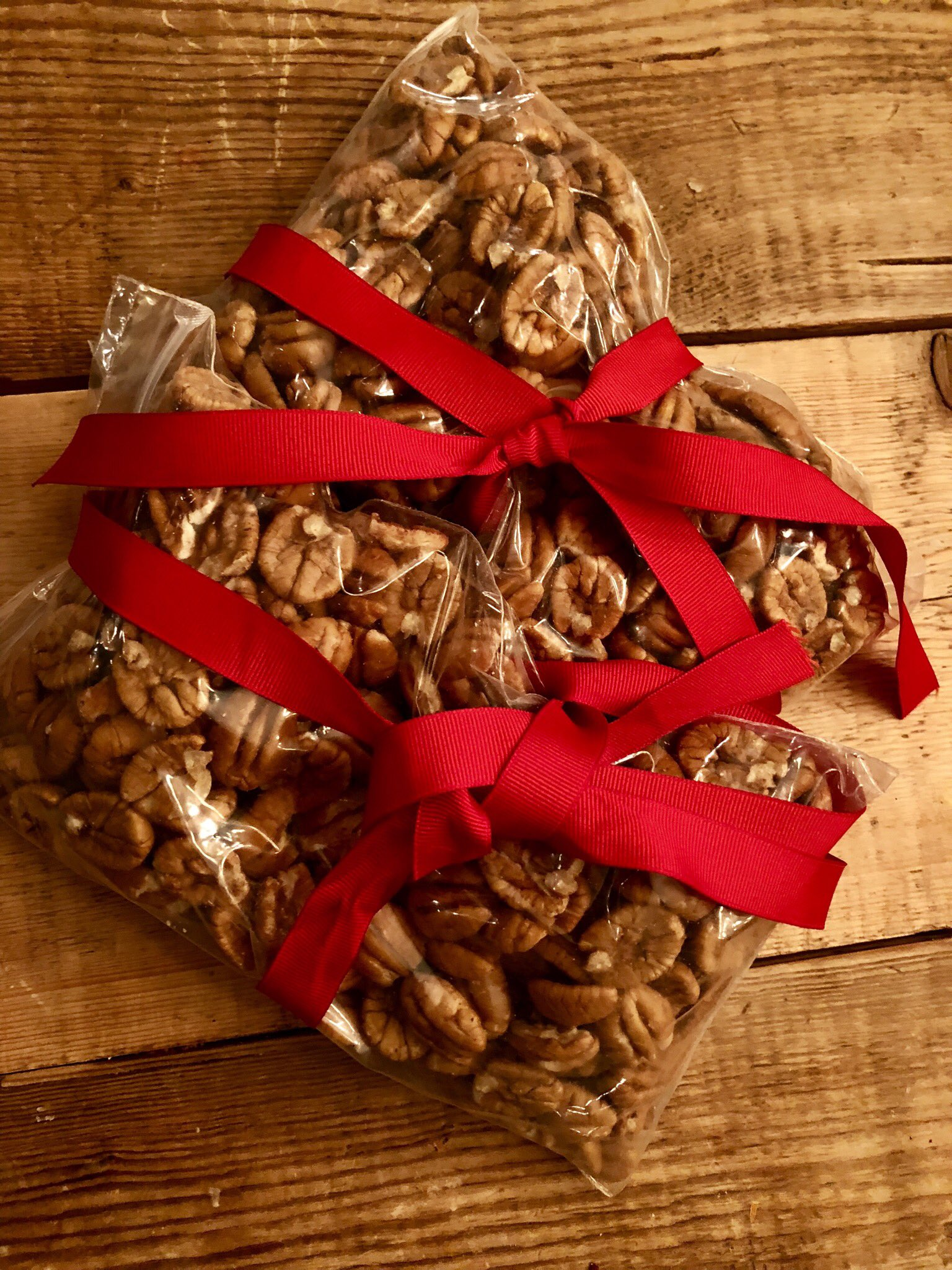 Thanks to @VP Chief of Staff @Nick_Ayers for supplying the pecans from his family farm in Georgia #piegate https://t.co/Lx7LpMwF4V
