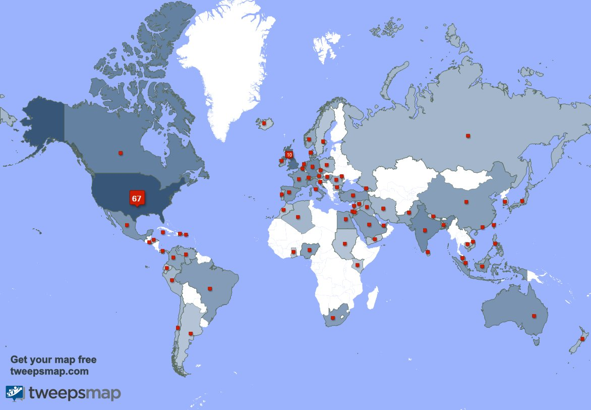 I have 35 new followers from Mexico, and more last week. See 0RFkYGW5nP 41