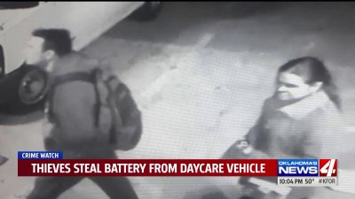 Thieves damage vehicle, steal battery outside metrodaycare