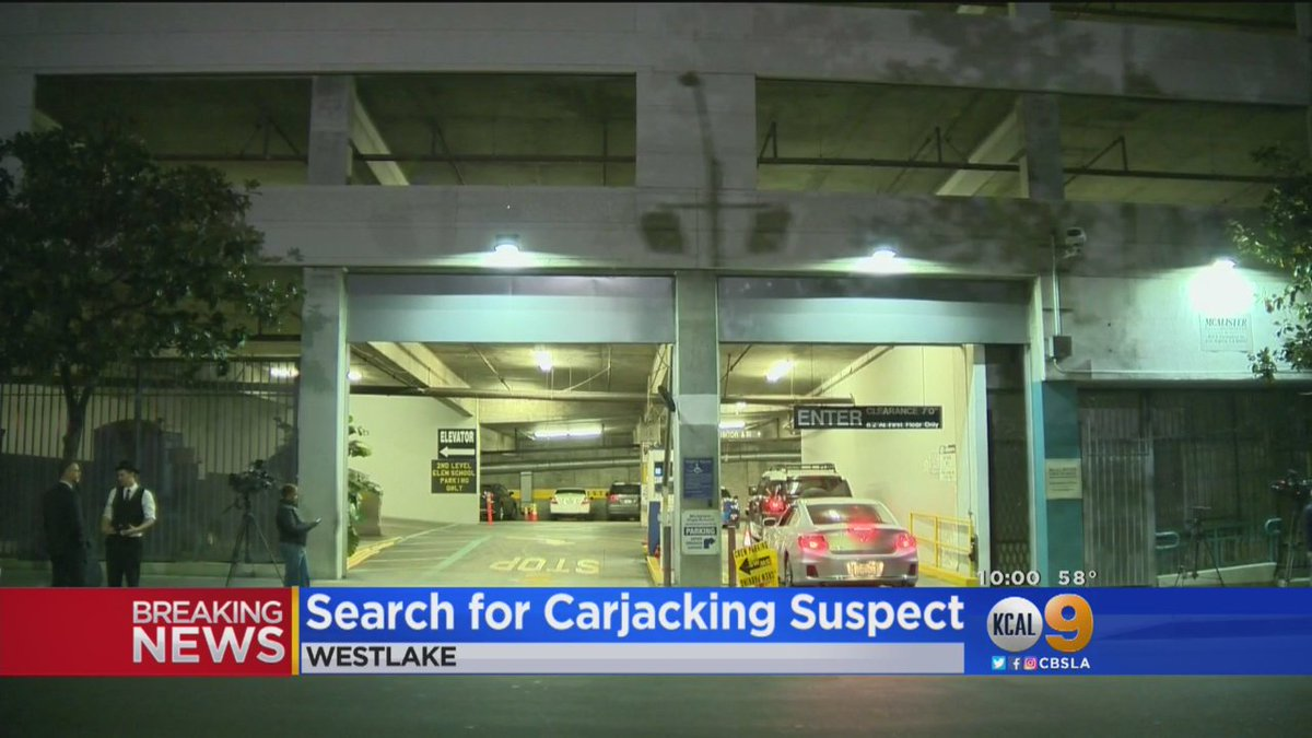 Police Investigating Possible Fatal Carjacking In ParkingStructure