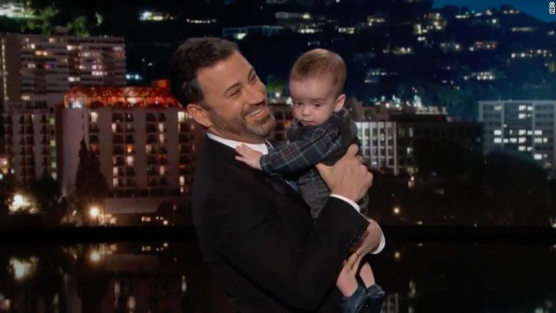 Jimmy Kimmel brings out his young son Billy to talk about health care https://t.co/DKyea8WMyx https://t.co/d2aP0xJmb0
