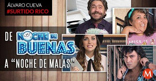 ▶️ #SurtidoRico: 'De 'Noche de Buenas' a 'Noche de Malas'' https://t.co/pYNBnQQ2oU El vlog de @AlvaroCueva https://t.co/YzxgCVzV4Y